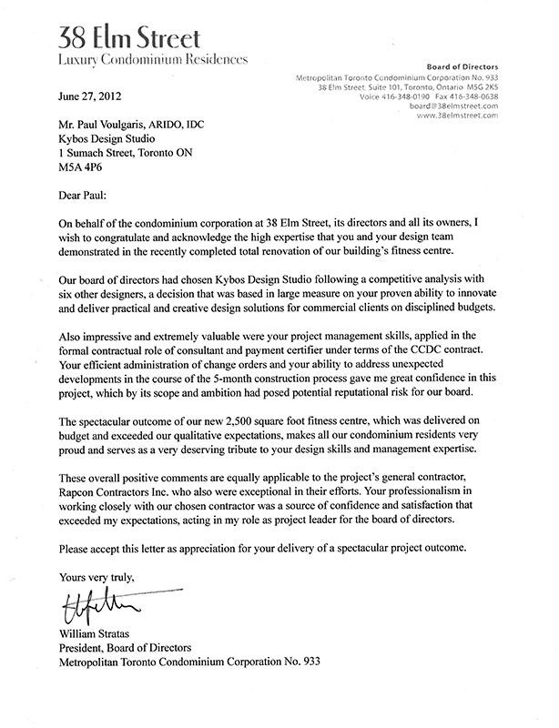 38 Elm St. presiden's letter II FIX'd